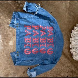 Jackets & Blazers - Pablo Jean Jacket